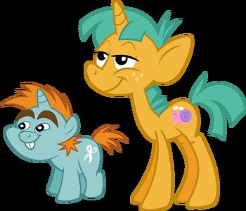 Pony Counterparts