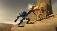 Animation Star Toa Mata Tahu vs. Skakdi Nektann