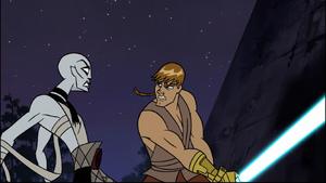 Asajj Ventress Anakin snarl