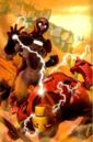 Ezekiel Stane fights Iron Man