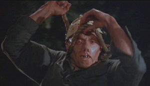 Jason in Friday the 13th part 3 unmasked