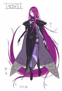 Sekhmet Light Novel Concept Art 1
