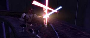 Asajj Ventress Kenobi combat