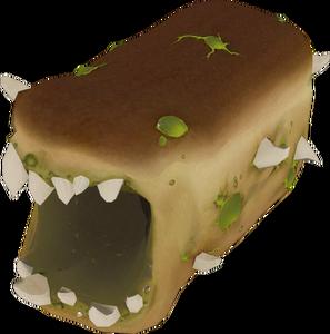 Bread Monster Thrown