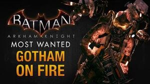 Batman Arkham Knight - Gotham on Fire (Firefly)