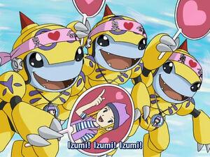 Honeybeemon (Izumi is awesome!)