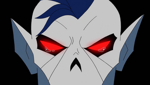 Hordak breaking down into tears