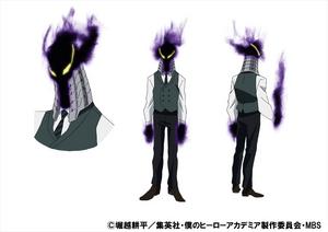 Kurogiri TV Animation Design Sheet