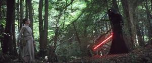 Kylo finds Rey