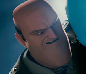 General Shanker grinning evilly