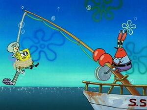 Mr krabs boat