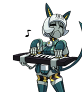 Robo Fortune keyboard