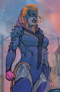 Mary MacPherran (Earth-616) from Black Bolt Vol 1 8 001