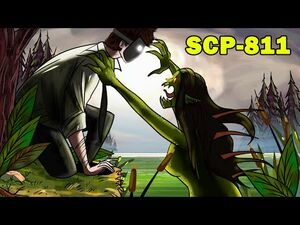 SCP-811 Swamp Woman (SCP Animation)