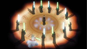 Skywalker Jedi ceremony