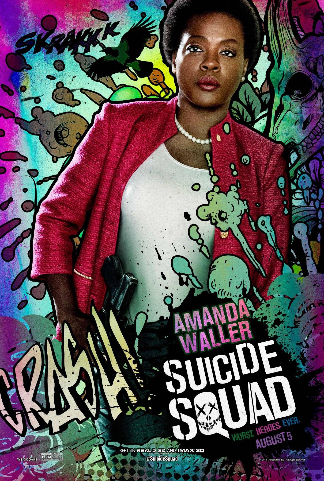 Amanda Waller (DC Extended Universe)