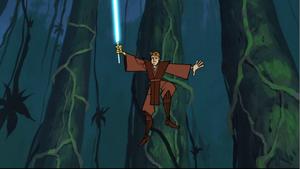 Anakin jungle leap