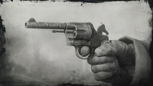Michah's revolver