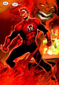 Red Lantern Hal Jordan 01
