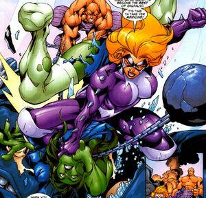 Titania vs She-Hulk