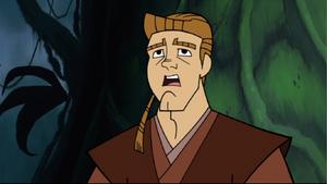 Anakin Skywalker shocked
