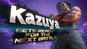Kazuya SSBU Splash Screen