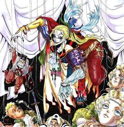 Kefka Palazzo the Psycho Clown