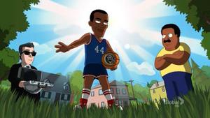 Obama Goes Basketball