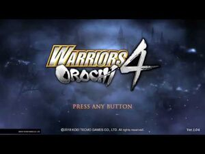 Warriors Orochi 4 - Cao Ren Unique Weapon