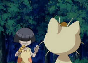 Ghost Girl Lures Meowth