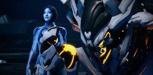 Halo 5 - Cortana and Warden