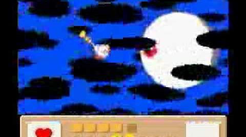 Kirby's Dream Land 3 Final Dark Matter Battle