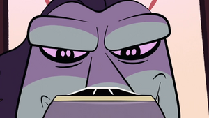 S1E24 Toffee's evil grin