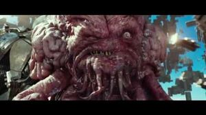 TMNT Out of The Shadows Krang Freezes Shredder HD