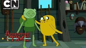 Adventure Time Give Trouble to Trouble Cartoon Network