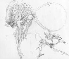Alien Sketch1
