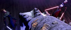 Asajj Skywalker dodge
