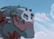 Cyber-Godzilla Angry