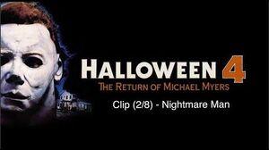 Halloween 4 The Return of Michael Myers 1988 Clip Nightmare Man (HD)