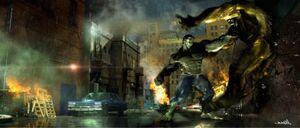 Hulk vs. Abomination - Concept Art