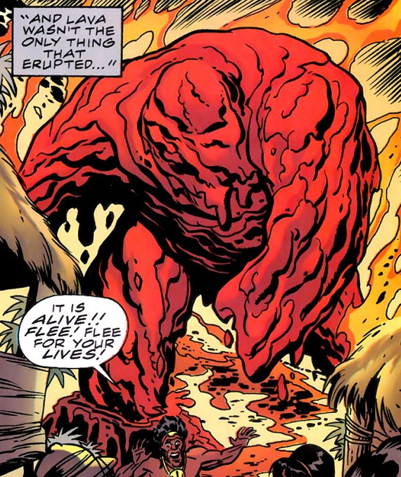 Molten Man-Thing