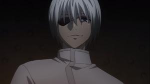Mutsuki with white hair TG anime
