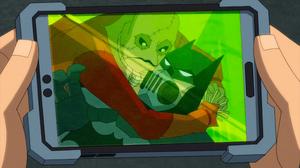 Batman vs Scarecrow