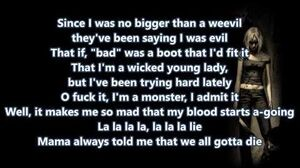 Nick Cave and The Bad Seeds - The Curse of Millhaven - Lyrics
