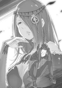 ReZero Volume 13 Sekhmet & Subaru Illustration