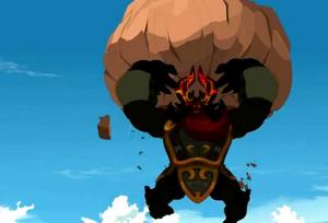 Rushu boulder
