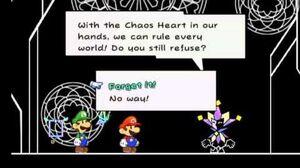 Super Paper Mario Dimentio Vs Luigi