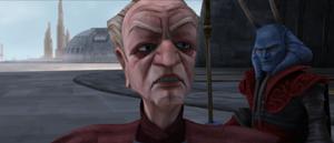 Chancellor Palpatine berates