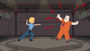 Gina Kills a Prisoner