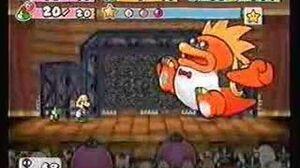 Paper Mario2 Boss Battle Macho Grubba